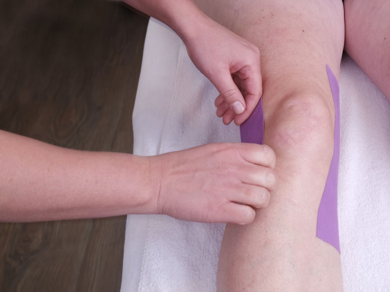 Medical taping | Fysiotherapie Weerdsingel in Utrecht